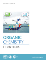 Organic Chemistry Frontiers Home-Rapid publication of high quality ...