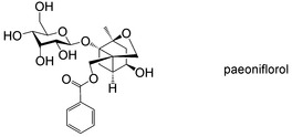 Monoterpene derivatives with anti-allergic activity from red peony root, the root of Paeonia lactiflora