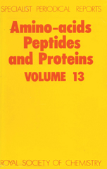 Amino Acids, Peptides and Proteins: Volume 13
