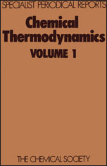 Chemical Thermodynamics: Volume 1