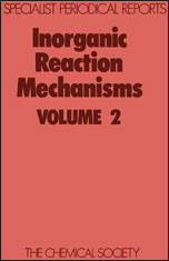 Inorganic Reaction Mechanisms: Volume 2