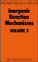Inorganic Reaction Mechanisms: Volume 3