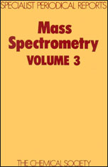 Mass Spectrometry: Volume 3