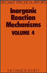 Inorganic Reaction Mechanisms: Volume 4