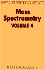 Mass Spectrometry: Volume 4