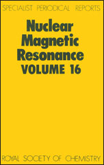 Nuclear Magnetic Resonance: Volume 16
