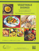 Vegetable Dishes: Supplement to The Composition of Foods