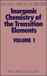 Inorganic Chemistry of the Transition Elements: Volume 1