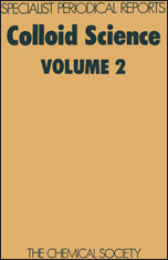 Colloid Science: Volume 2