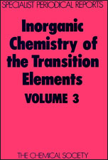 Inorganic Chemistry of the Transition Elements: Volume 3