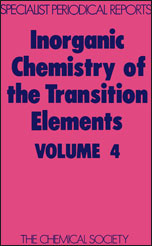 Inorganic Chemistry of the Transition Elements: Volume 4