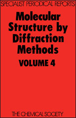 Molecular Structure by Diffraction Methods: Volume 4