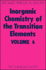 Inorganic Chemistry of the Transition Elements: Volume 6