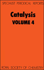 Catalysis: Volume 4