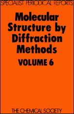 Molecular Structure by Diffraction Methods: Volume 6