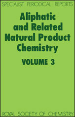 Aliphatic and Related Natural Product Chemistry: Volume 3