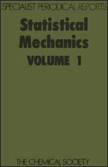 Statistical Mechanics: Volume 1