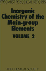 Inorganic Chemistry of the Main-Group Elements: Volume 2