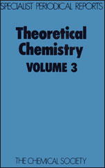 Theoretical Chemistry: Volume 3