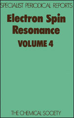 Electron Spin Resonance: Volume 4