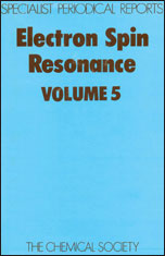 Electron Spin Resonance: Volume 5