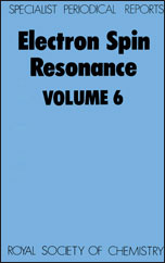 Electron Spin Resonance: Volume 6