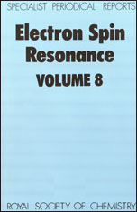 Electron Spin Resonance: Volume 8