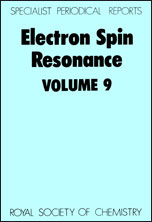 Electron Spin Resonance: Volume 9