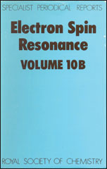 Electron Spin Resonance: Volume 10B