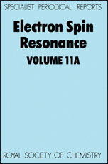 Electron Spin Resonance: Volume 11A