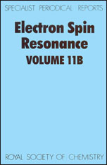 Electron Spin Resonance: Volume 11B