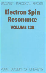 Electron Spin Resonance: Volume 13B
