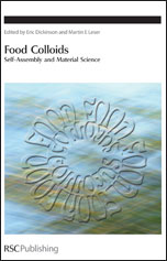Food Colloids: Self-Assembly and Material Science