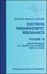 Electron Paramagnetic Resonance: Volume 16
