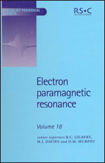 Electron Paramagnetic Resonance: Volume 18