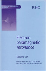 Electron Paramagnetic Resonance: Volume 19