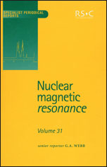 Nuclear Magnetic Resonance: Volume 31
