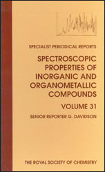 Spectroscopic Properties of Inorganic and Organometallic Compounds: Volume 31