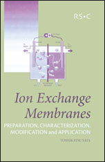 Ion Exchange Membranes: Preparation, Characterization, Modification and Application