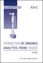 Extraction of Organic Analytes from Foods: A Manual of Methods