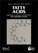 Fatty Acids: Supplement to The Composition of Foods
