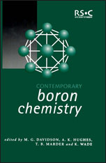 Contemporary Boron Chemistry