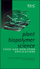 Plant Biopolymer Science: Food and Non-Food Applications