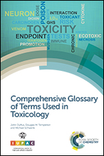 Comprehensive Glossary of Terms Used in Toxicology
