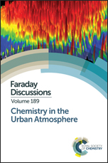 Chemistry in the Urban Atmosphere: Faraday Discussion 189