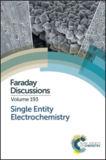 Single Entity Electrochemistry: Faraday Discussion 193
