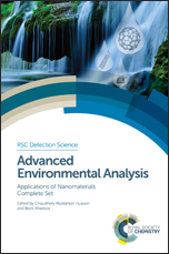 Advanced Environmental Analysis: Applications of Nanomaterials, Complete Set