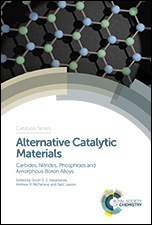 Alternative Catalytic Materials: Carbides, Nitrides, Phosphides and Amorphous Boron Alloys