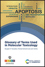 Glossary of Terms Used in Molecular Toxicology