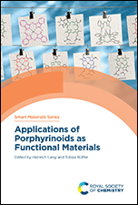 Applications of Porphyrinoids as Functional Materials